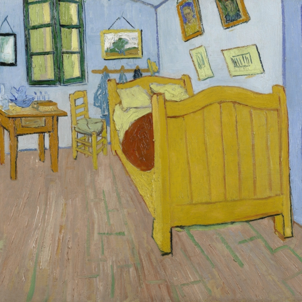 bedroom van gogh